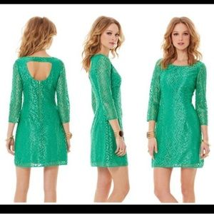 Lilly Pulitzer Size 12 Camellia Lace  Sheath Dress